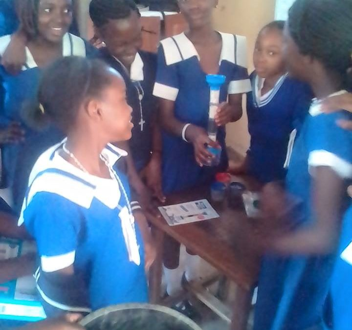 Science kits and books sent to Zambia