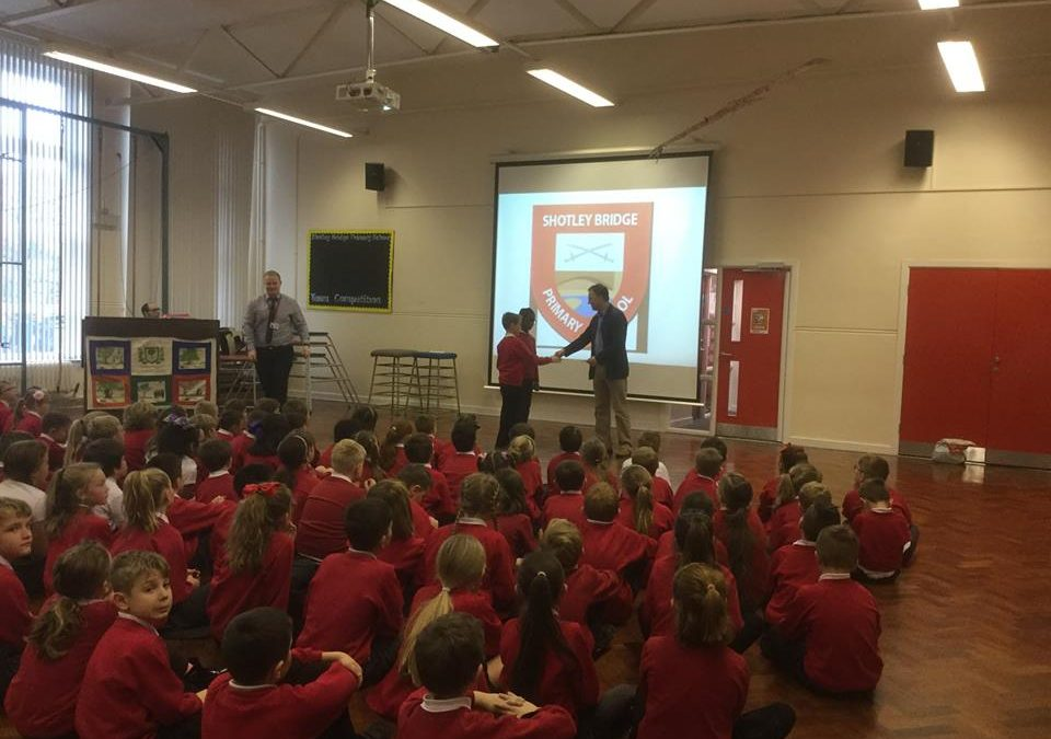 Shotley Bridge Primary School fundraising presentation