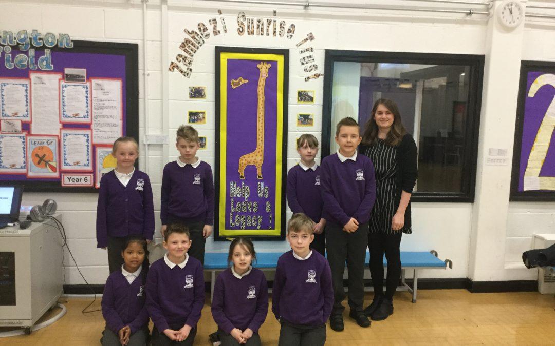 Thanks to Cramlington Village Primary School