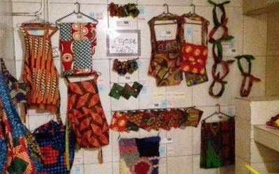Tiyesa Craft Club items for sale in Cafe Zambezi in Livingstone!