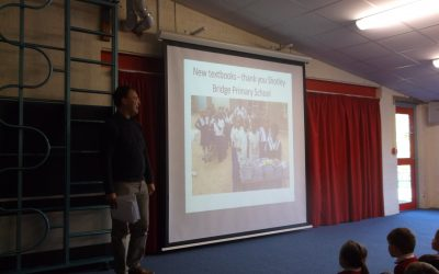 Shotley Bridge Primary School receive greetings from Nekacheya