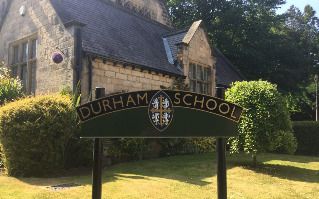 A chance to thank Durham School for their support.
