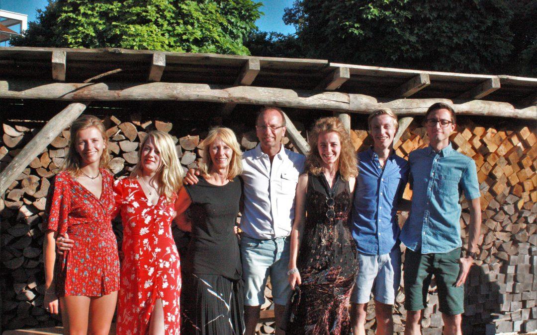 A birthday fundraiser in Holland