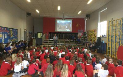 School visit in Cambridgeshire