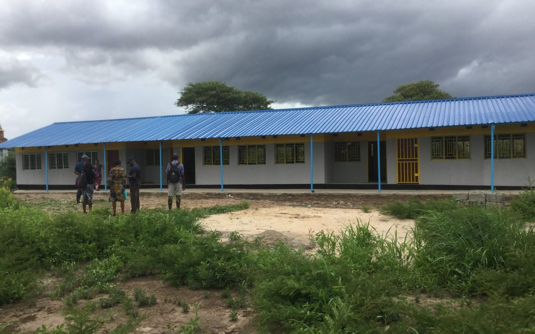 Classroom block completed – and contract signed for next classroom.