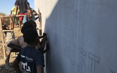 Trustees arrive in Zambia
