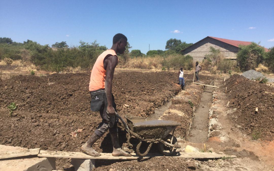 Foundations go in for new two classroom block