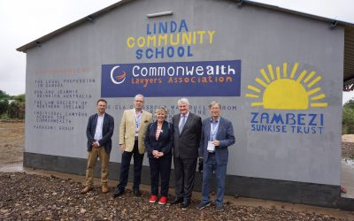 Lord Chief Justice of England and other legal dignitaries visit Linda Community School