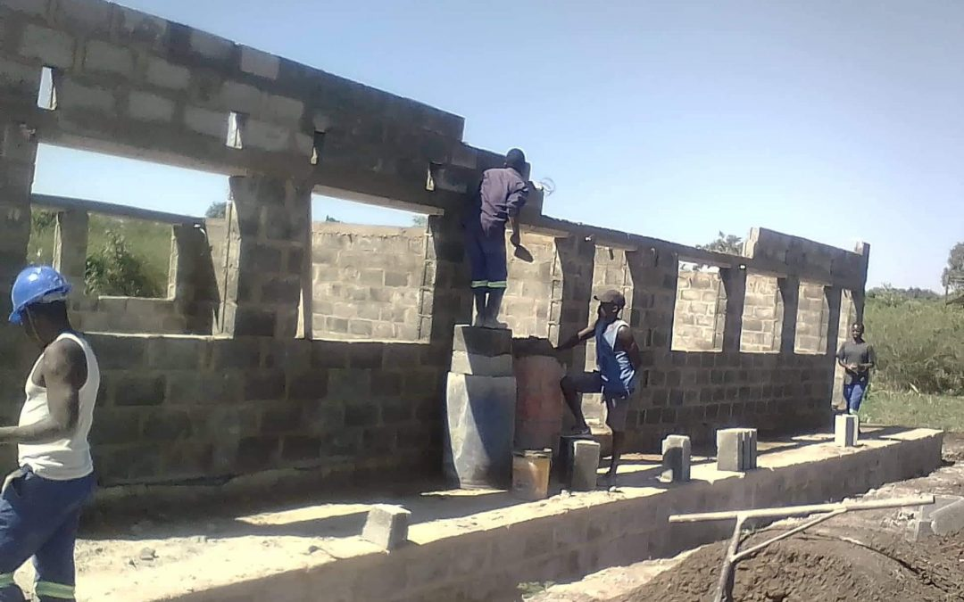 Progress on new classroom block