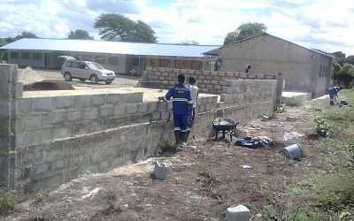 Work continues on new two classroom block