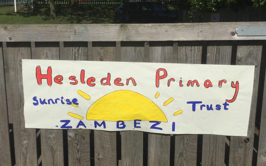 Hesleden Primary School sponsored walk