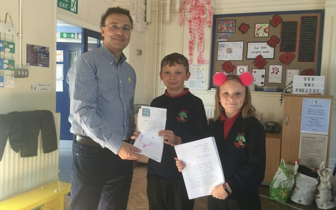 Visit to Hesleden Primary School, County Durham