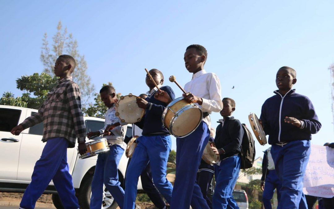 Nekacheya band plays on