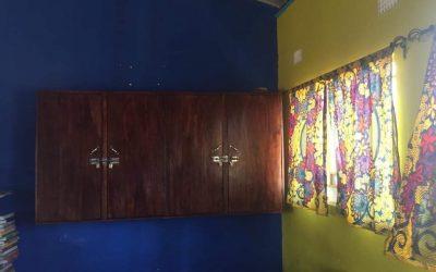 New classroom cupboards at Linda Community School