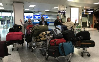 Trustees, supporters and donations head to Zambia.