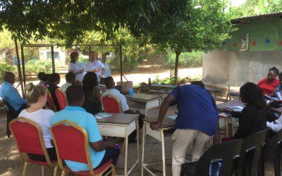 Teacher group training at Nekacheya School