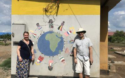 First 2020 visits to Linda Community School, Tiyese Craft Initiative and Homework Club