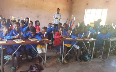 School uniforms distributed in Barotseland / Western Province.