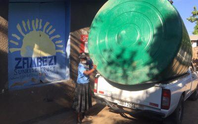New water tank for Nekacheya