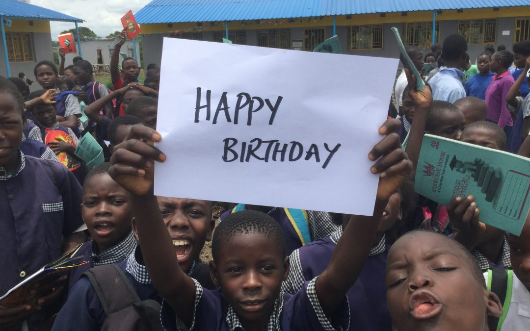 It's our birthday – and Zambezi Sunrise Newsletter launched.