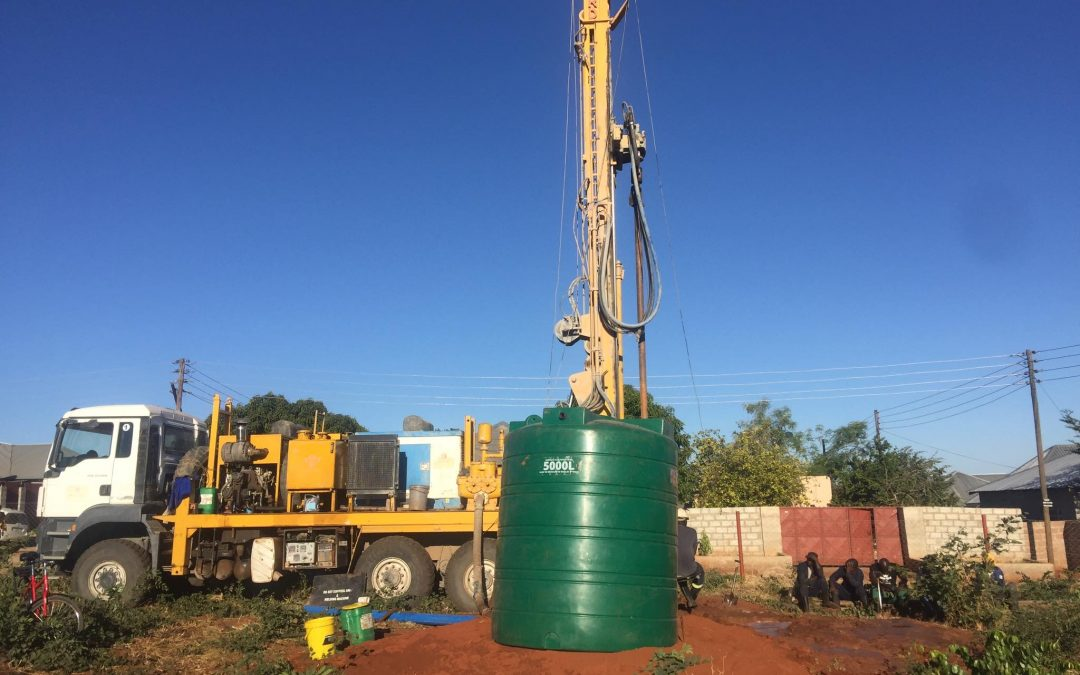 Water tank installed at Nekacheya