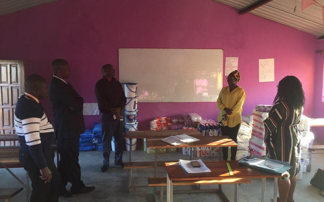 Law Association of Zambia visit Linda Community School