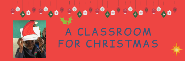 'Classroom For Christmas' appeal raises £5,222 as part of the Big Give Christmas Challenge.