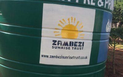 Nekacheya water tank gets some logos.