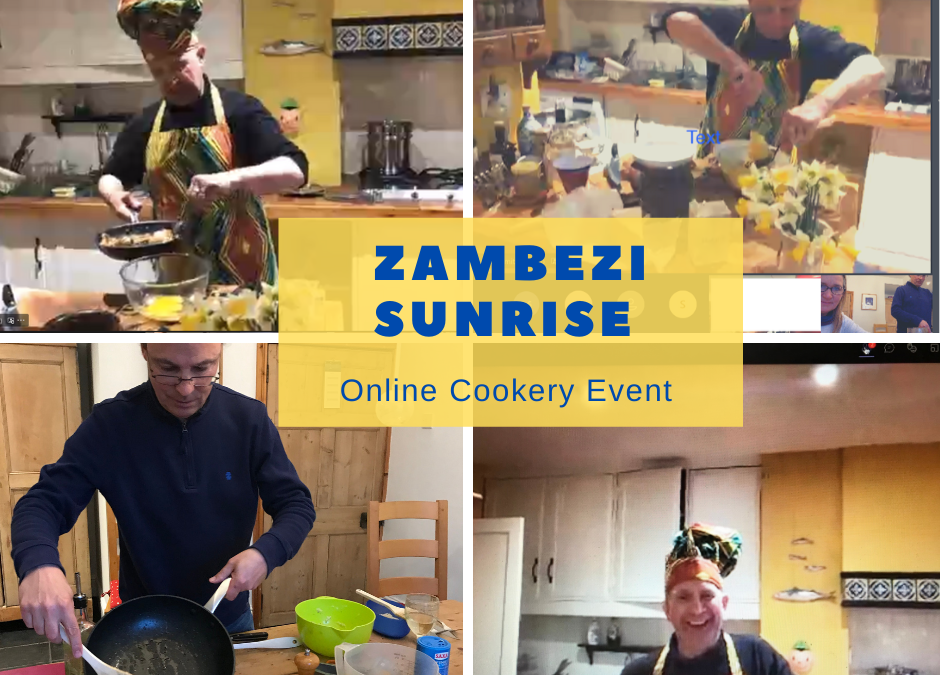 Online cooking event.
