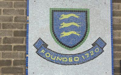 First visit to a U.K. school in 20 months.