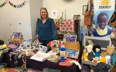 A thank you to Wylam Makers Market and some talented supporters who have donated craft items.