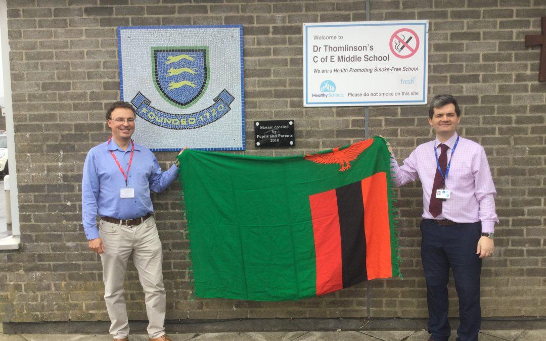 Visit to Rothbury school