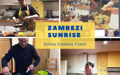 Online cooking event.